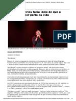 A Velhice Reportagem Folha Ilustrissima