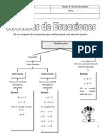 Tema 11 Sistemas de Ecuaciones