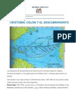 Hist_Cristobal Colón y El Descubrimiento de América
