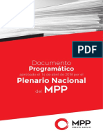 Documento Del MPP - Programa