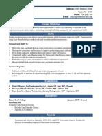 resume - edited with skills  1