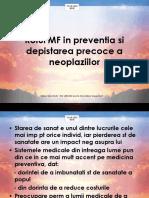 Curs 6 - Rolul Mf in Preventia Si Depistarea Precoce a Neoplaziilor
