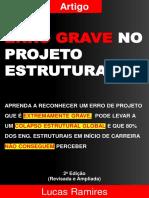 Erro Grave No Projeto Estrutural