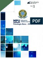 MPU Psicologia 2018 Aula 1