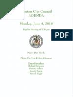 City Meeting 6.2.2018