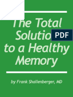 Total Solution to a Healthy Memory