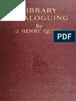 [John Henry Quinn] Library Cataloguing(B-ok.xyz)