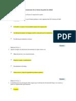 Semana 1 Evaluacion 1 Documentacion de Un Sistema de Gestión de Calidad
