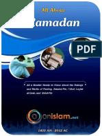 English All About Ramadan
