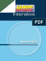 Manual PIM III Contabilidade