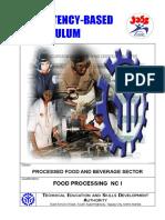 Food Processing NC I CBC