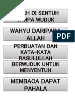 Beza Had is Dan Quran Bbm