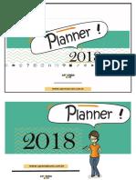 Planner 2018 1 Semestre