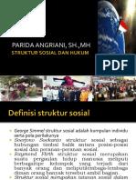 Struktur Sosial Dan Hukum