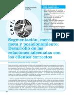 Mercadotecnia Coursera Capitulo 7 Segmentación