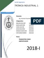 Transistor Informe(Conclusiones y Recomendaciones)