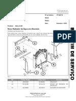 BS 53_16 - Novo Radiador de Agua Em Aluminio