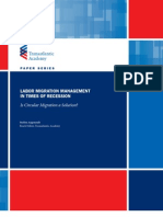 Labor Migration Management in Times of Recession