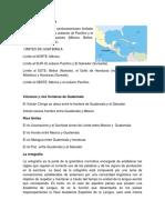 Límites de Guatemala Rios y Fronteras Palabras Agudas Esdrujulas Sobre Esdrujulas