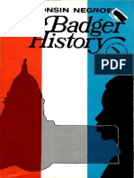 Badger History Wisconsin Negroes