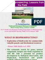 Issues in Bioprospecting