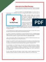 Creación de La Cruz Roja Peruana