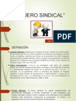 FUERO SINDICAL