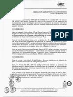 resolución administrativa derecho económico RA-N-0102013