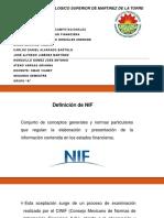¿Qué son las NIF?