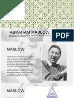 Abraham Maslow UST