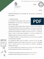 Resolucion 171-16 - Equipamiento Electrico de Baja Tension - Anexo