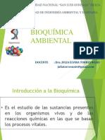 CLASE 1 Y 2 Introducción a La Bioquímica