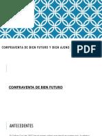 Compraventa de Bien Futuro y Bien Ajeno.pptx