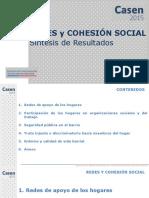 CASEN 2015 Resultados Redes Cohesion Social