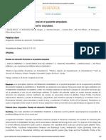 Escalas de valoración funcional en el paciente amputado_
