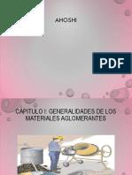 Diapositivas de Aglomerantes