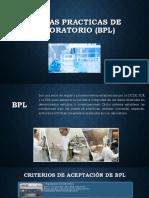 Buenas Practicas de Laboratorio (Bpl)