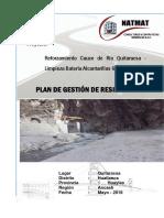 Plan de Gestión de Residuos