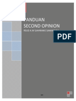 Panduan Second Opinion