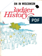 Badger History Education in Wisconsin
