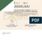 Certificado Nhambe