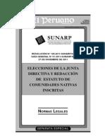 SE- N° 126-2011-SUNARP-SA