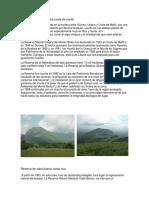 Reserva de Monte Nimba Costa de Marfil
