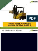 Preparacion Licencia Clase D