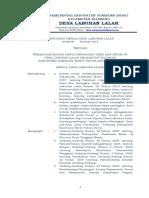 Sk. Kades to Pembagian Tugas Desa Labuhan Lalar 2015