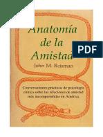 Anatomia de La Amistad - John M. Reisman