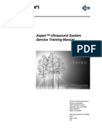 Acuson Aspen - Service Training Manual