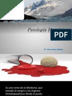 PATOLOGIA HEMATICA