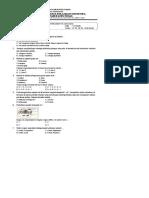 Soal Pas Ipa Kelas 7 Tp. 2017-2018