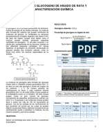 Obtencion de Glucogeno de Hígado de Rata y Caracterizacion Quimica